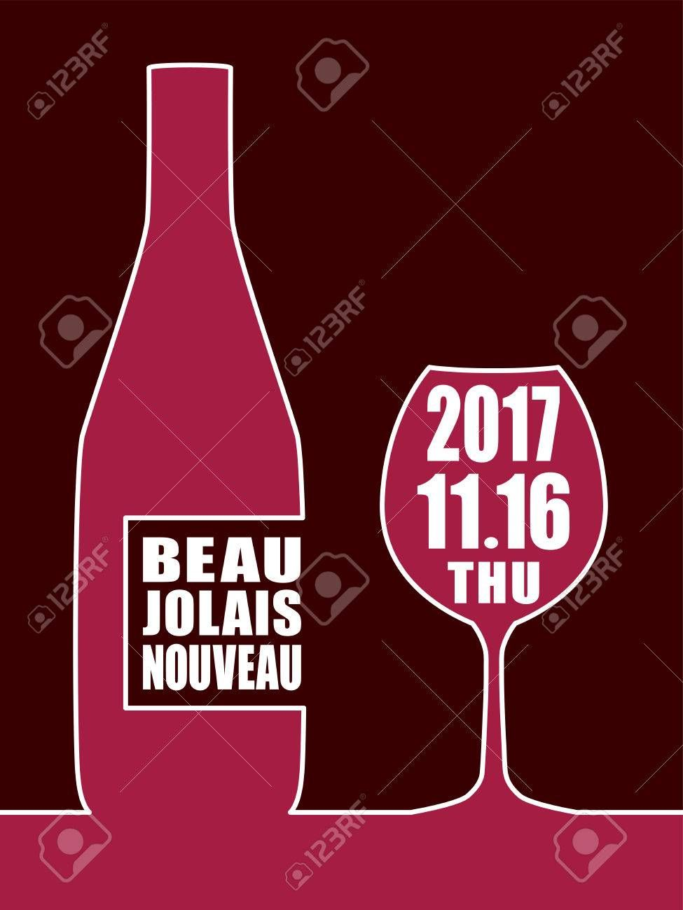 Beaujolais Nouveau Vector Background Sponsored Nouveau Beaujolais Background Vector Interior Design Kitchen Gaming Logos Design