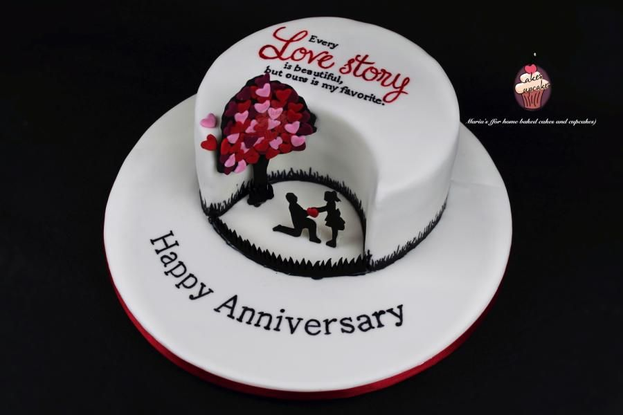 Birthday Cake With Name Jimmy ~ Love story cake by maria s cakesdecor cakes