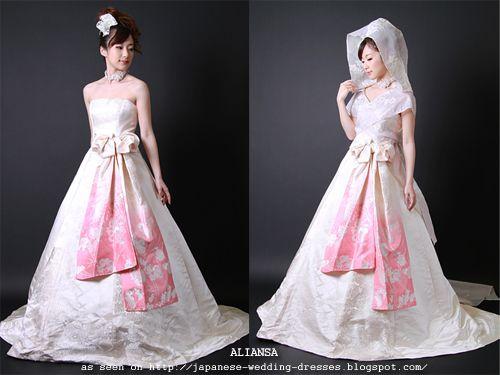 Anese Wedding Dresses Beyond The Kimono Aliansa S Modern Fabric