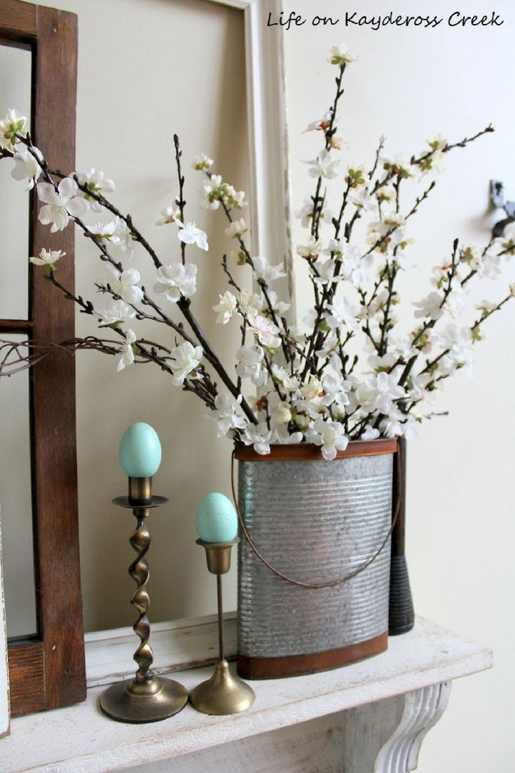 Farmhouse Decor For Spring See How We Decorated For Spring With