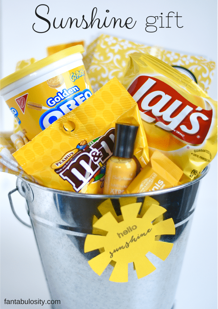 Box of Sunshine Gift Ideas - Gift Baskets of all things Yellow   Fantabulosity
