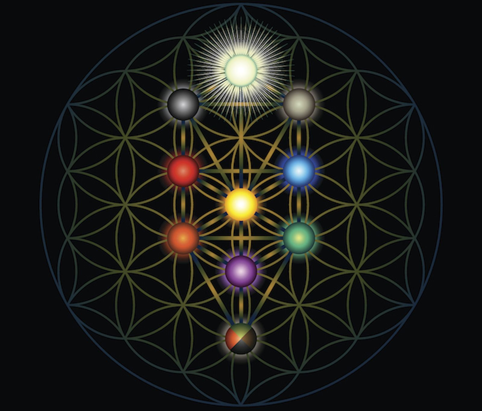Wicca And Kabbalah Are Similar Babylonian Practices And Both Are Forbidden In The Tanakh And Have Zero Eff In 2020 Tree Of Life Tattoo Flower Of Life Geometric Trees The tree of life, or etz hachayim (? wicca and kabbalah are similar