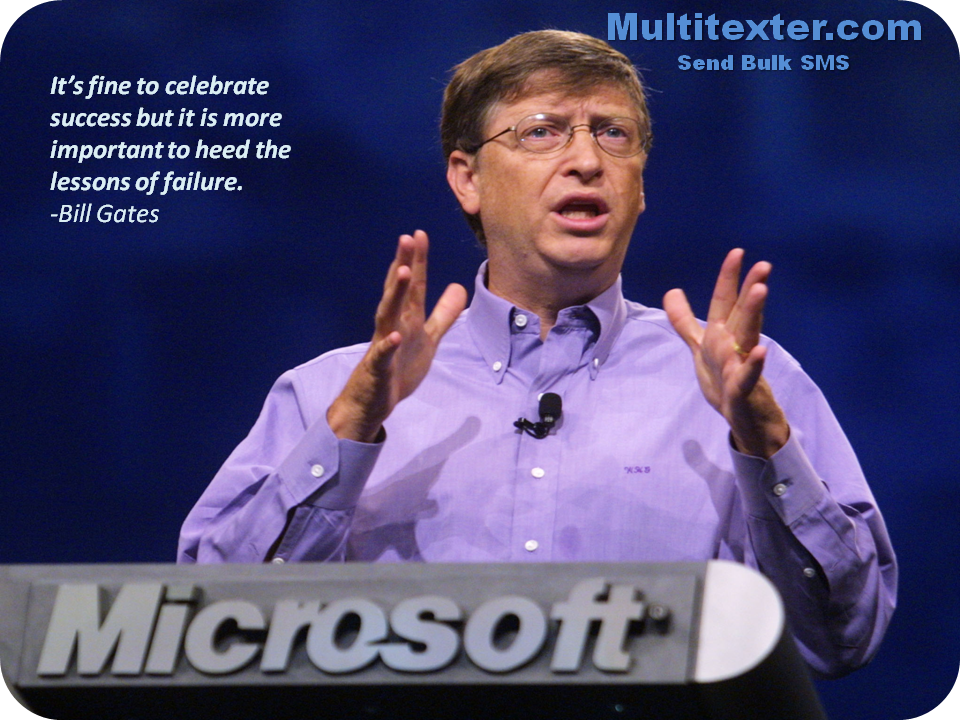 One of the very popular quotes on marketing from Bill Gates.