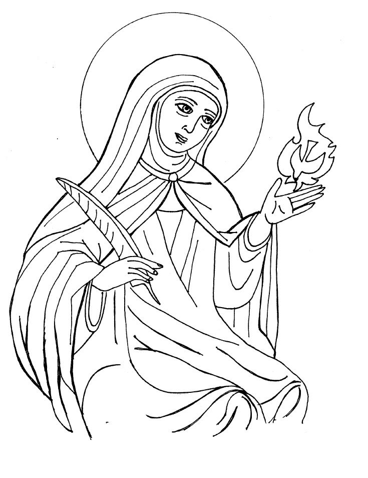 week 5 - timeline St. Teresa of Avila | Catholic Schoolhouse year 3 ...