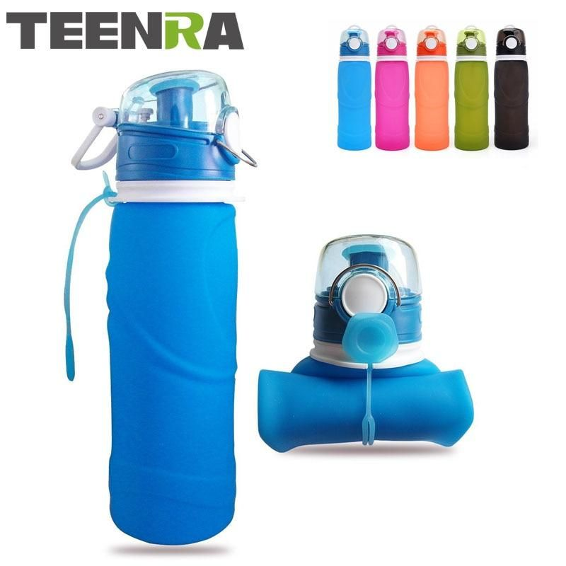 a3df0d741c Collapsible Silicone Water Bottle | UrbanPronto | Foldable water ...
