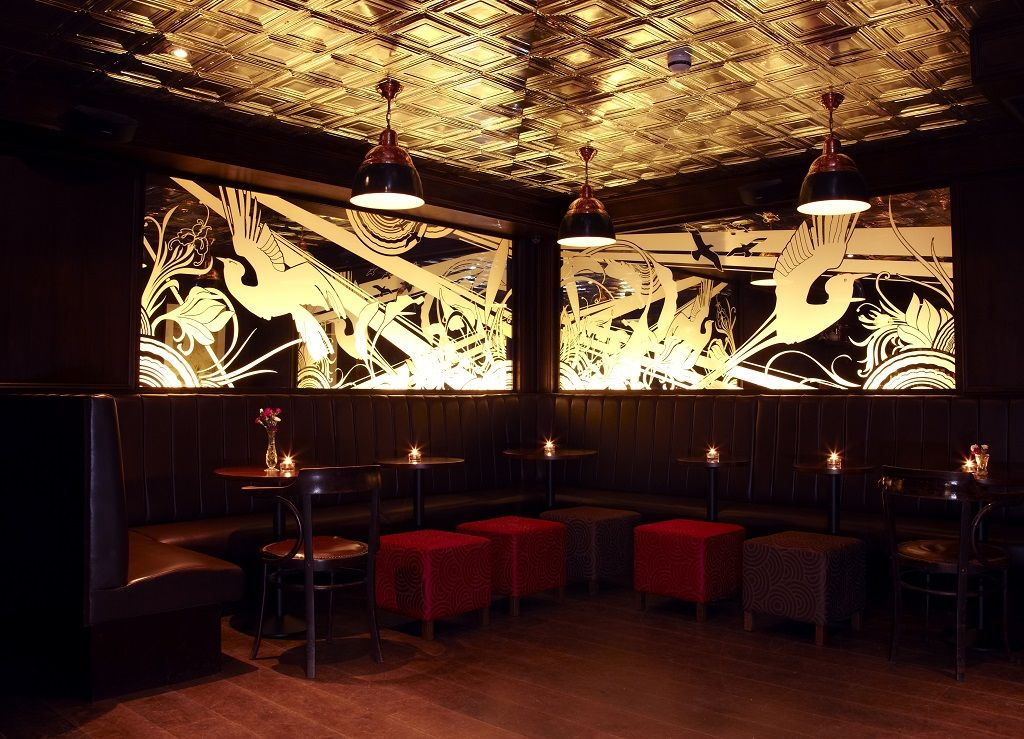 The nightjar interior in London