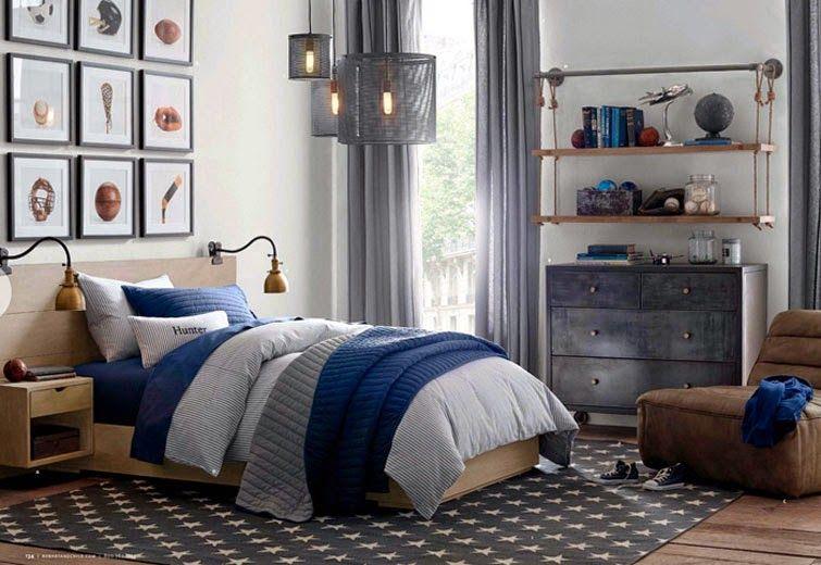 Recopilando las mejores ideas para dormitorios juveniles Pintura - Decoracion De Recamaras Para Jovenes Hombres