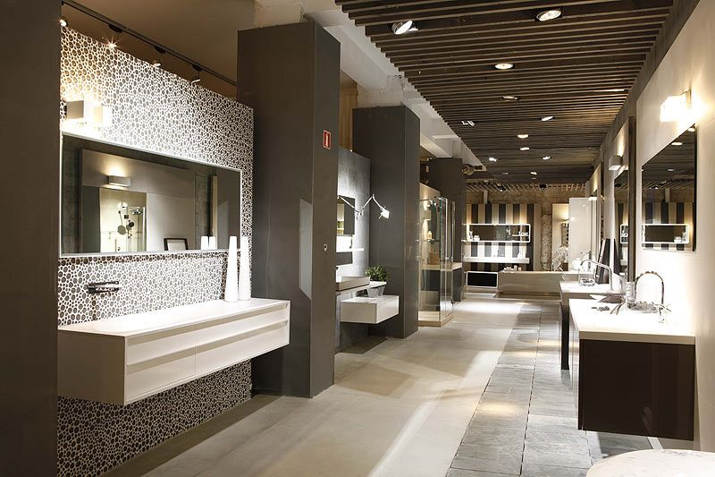 Gunni trentino kitchens and bathrooms barcelona showroom for Bathroom showrooms