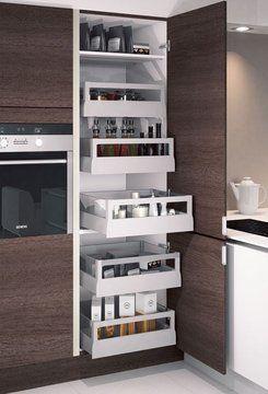 Une cuisine maxi rangements meubles diy et cuisines for Amenagement colonne cuisine
