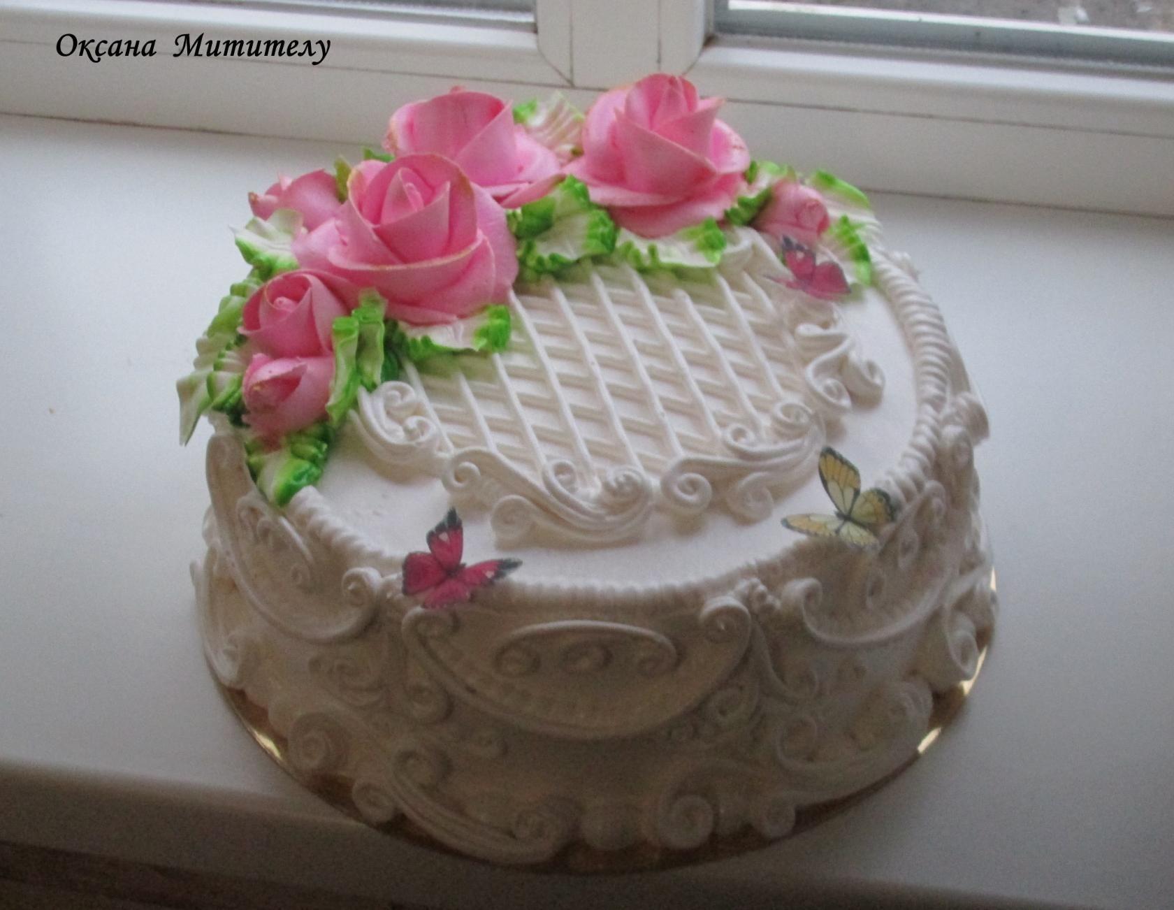 Личное фото | Надпись на торте, Вкусные торты, Красивые торты