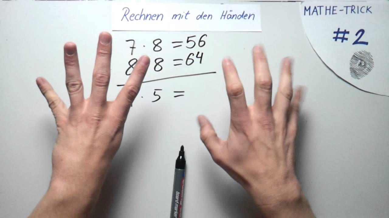 Mathe Trick #2 Rechnen mit den Händen