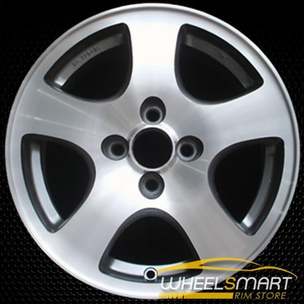 "15"" Acura Integra OEM Wheel 1994-1995 Machined Alloy Stock"