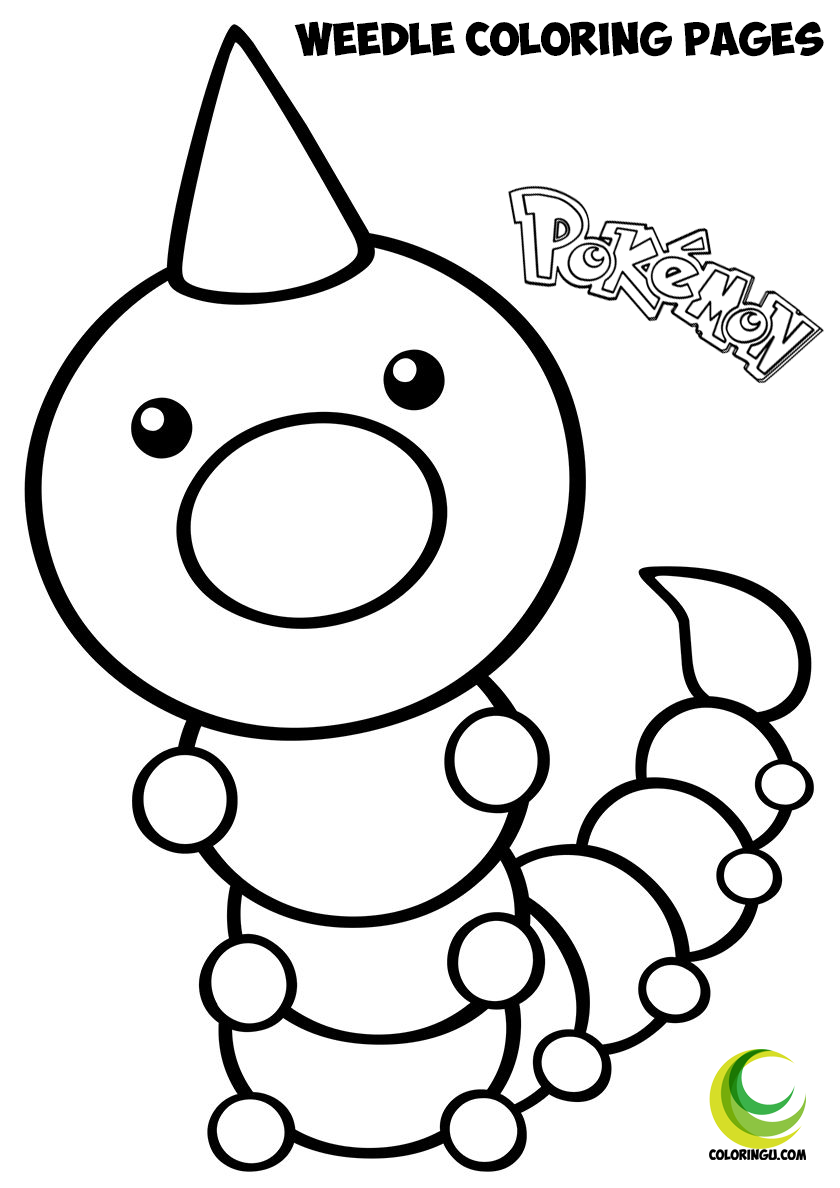 Weedle Coloring Pages In 2021 Pokemon Coloring Pages Coloring Pages Pokemon Coloring