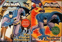 Batman The Brave And Bold Giant Coloring Activity Books Set Of 2