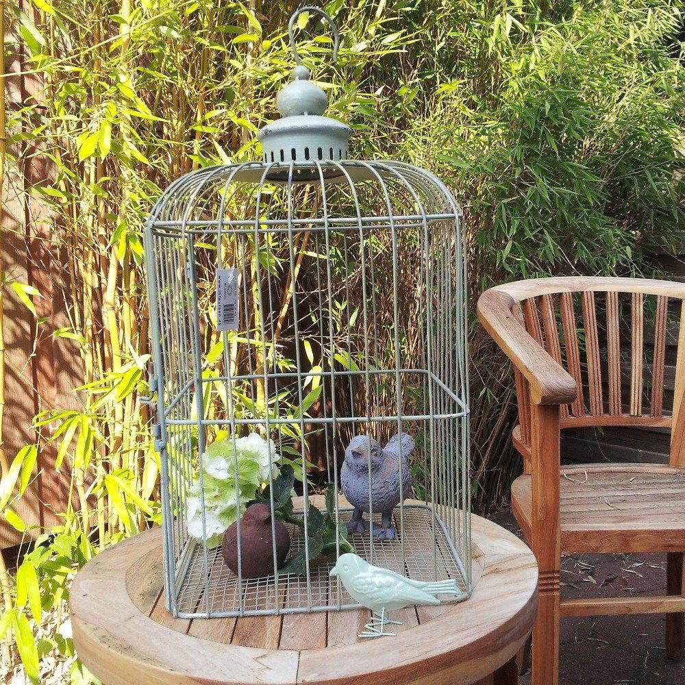 Deko Vogelkäfig Metall 2 Größen Dekoration bepflanzen