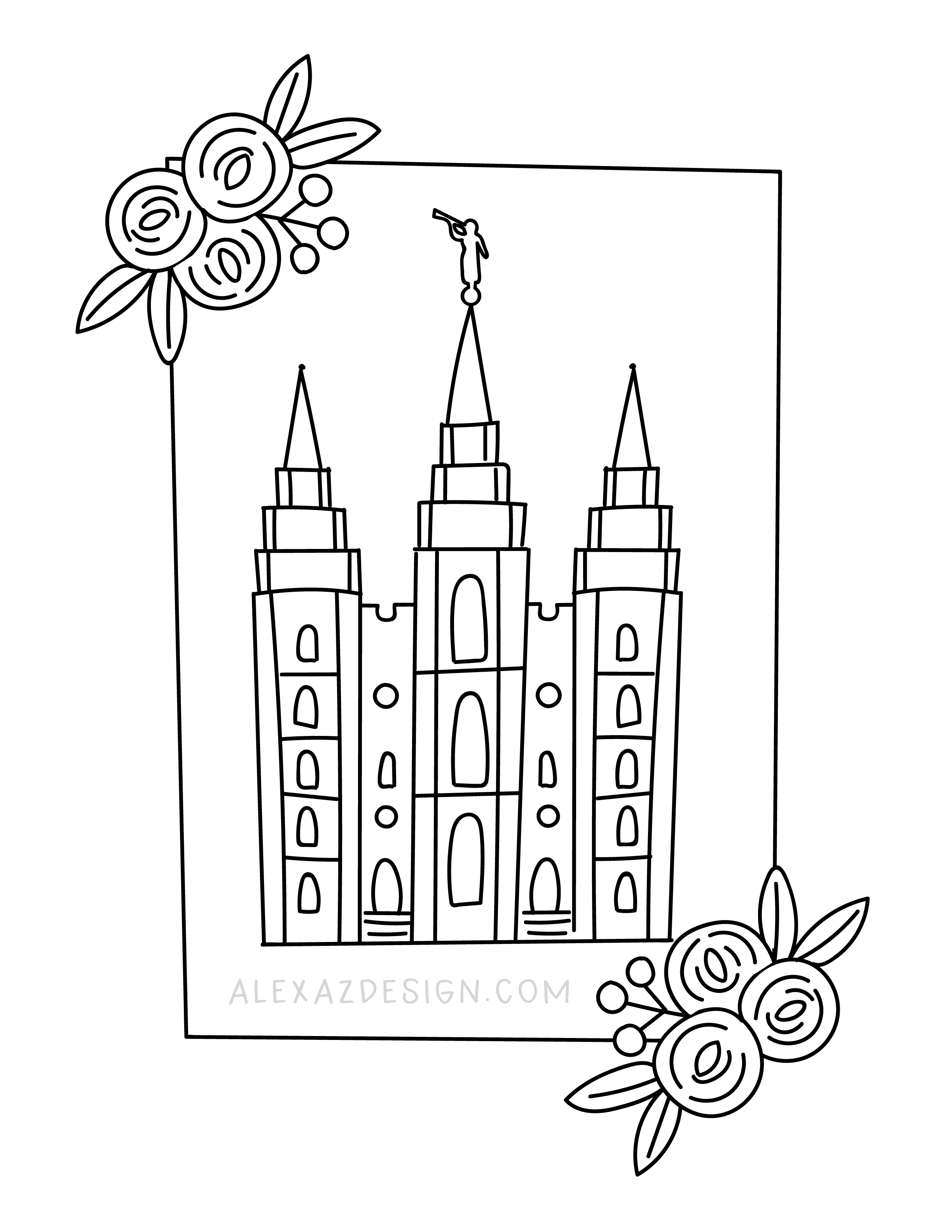 General Conference Coloring Page Printables Lds General Conference Activities General Conference General Conference Activities