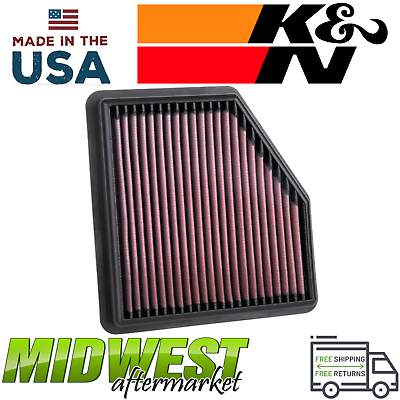 K&N Replacement HighFlow Air Filter Fits 20192020 Nissan