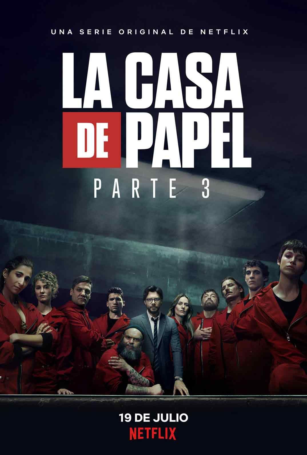 Netflix Presenta El Poster Oficial De La Casa De Papel Parte 3