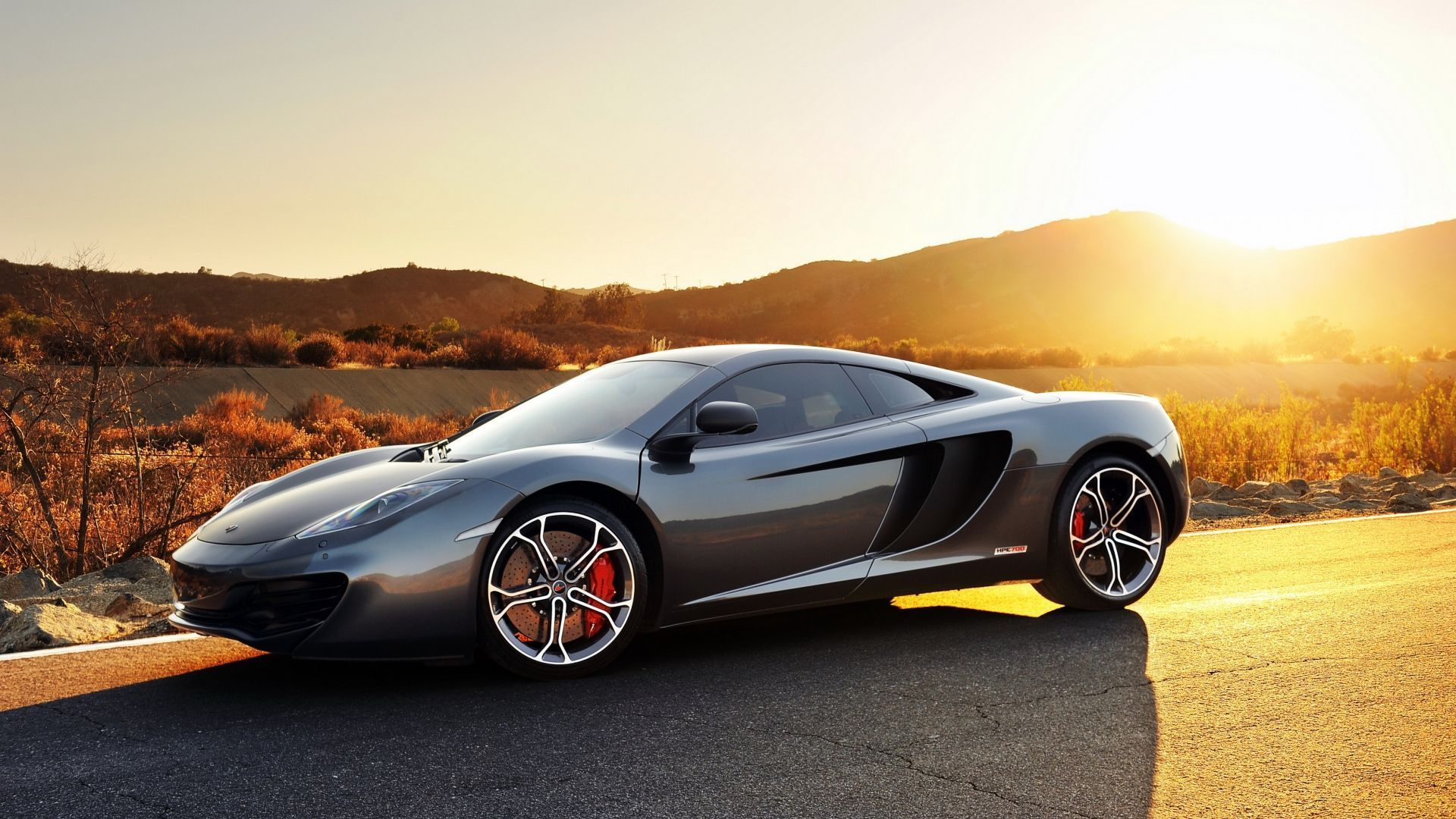Mclaren mp4 12c in gray side view sunset 1920x1080 download mclaren mp4 12c in gray side view sunset 1920x1080 fandeluxe Images