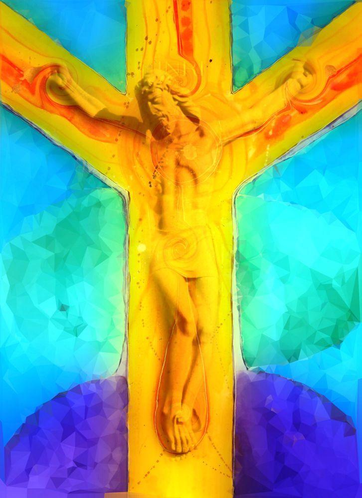 Jesus Christus - Kreuz - Leuchtkraft