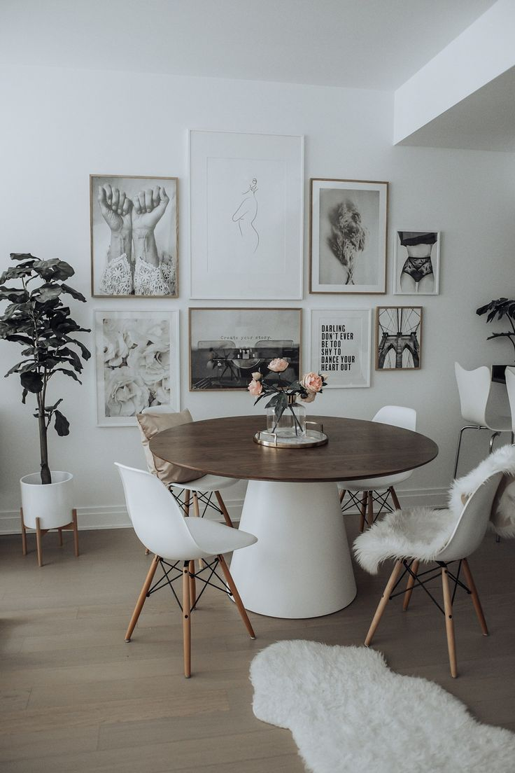 Dining room update with Desenio images
