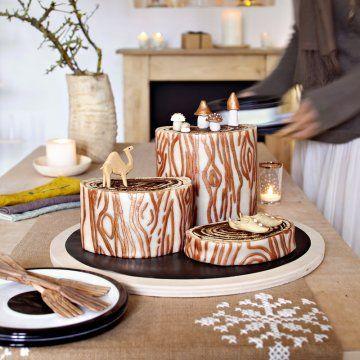 une b che p tissi re comme une vraie b che de bois buche. Black Bedroom Furniture Sets. Home Design Ideas
