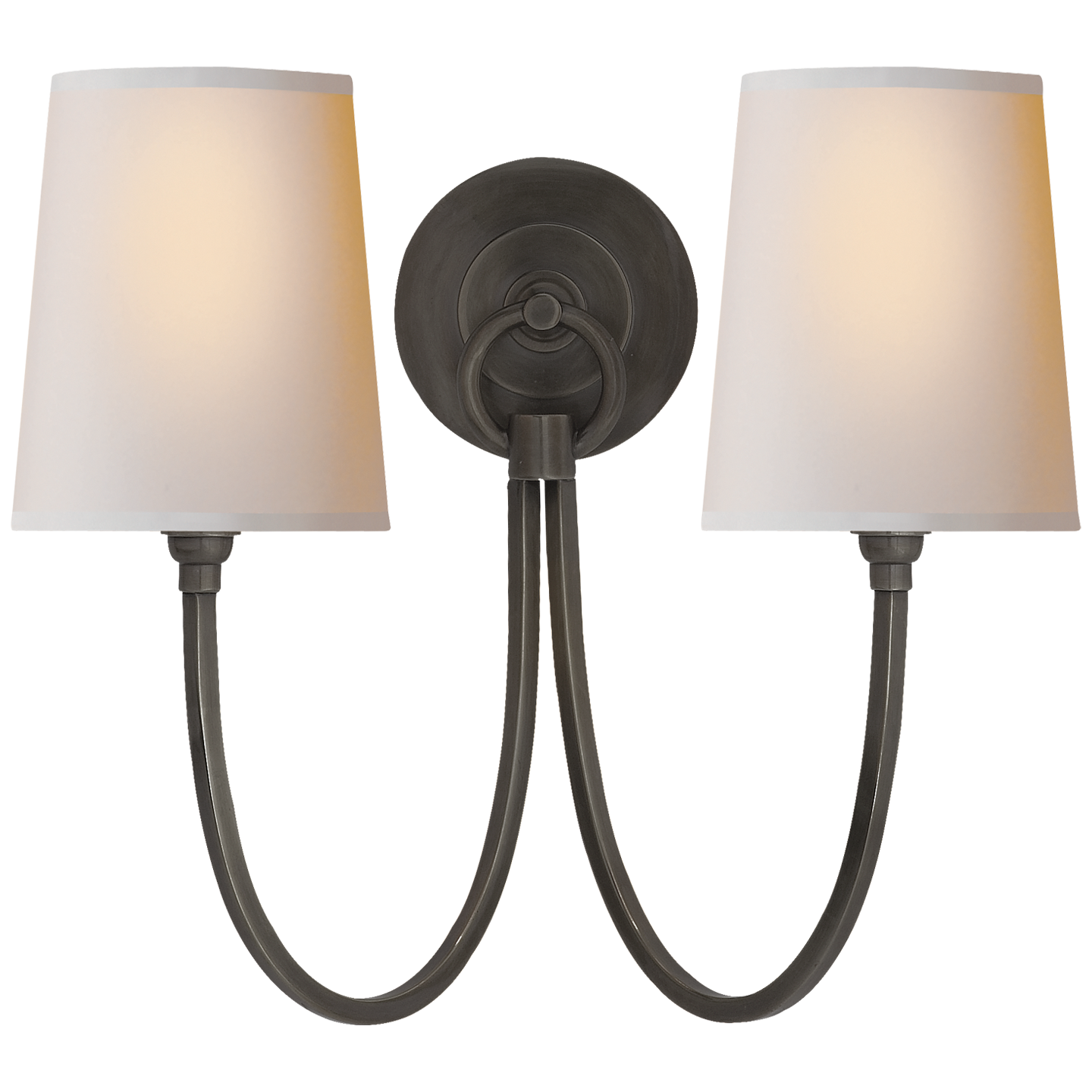 Reed Double Sconce In 2019 Sconces Lighting Visual Comfort Lighting