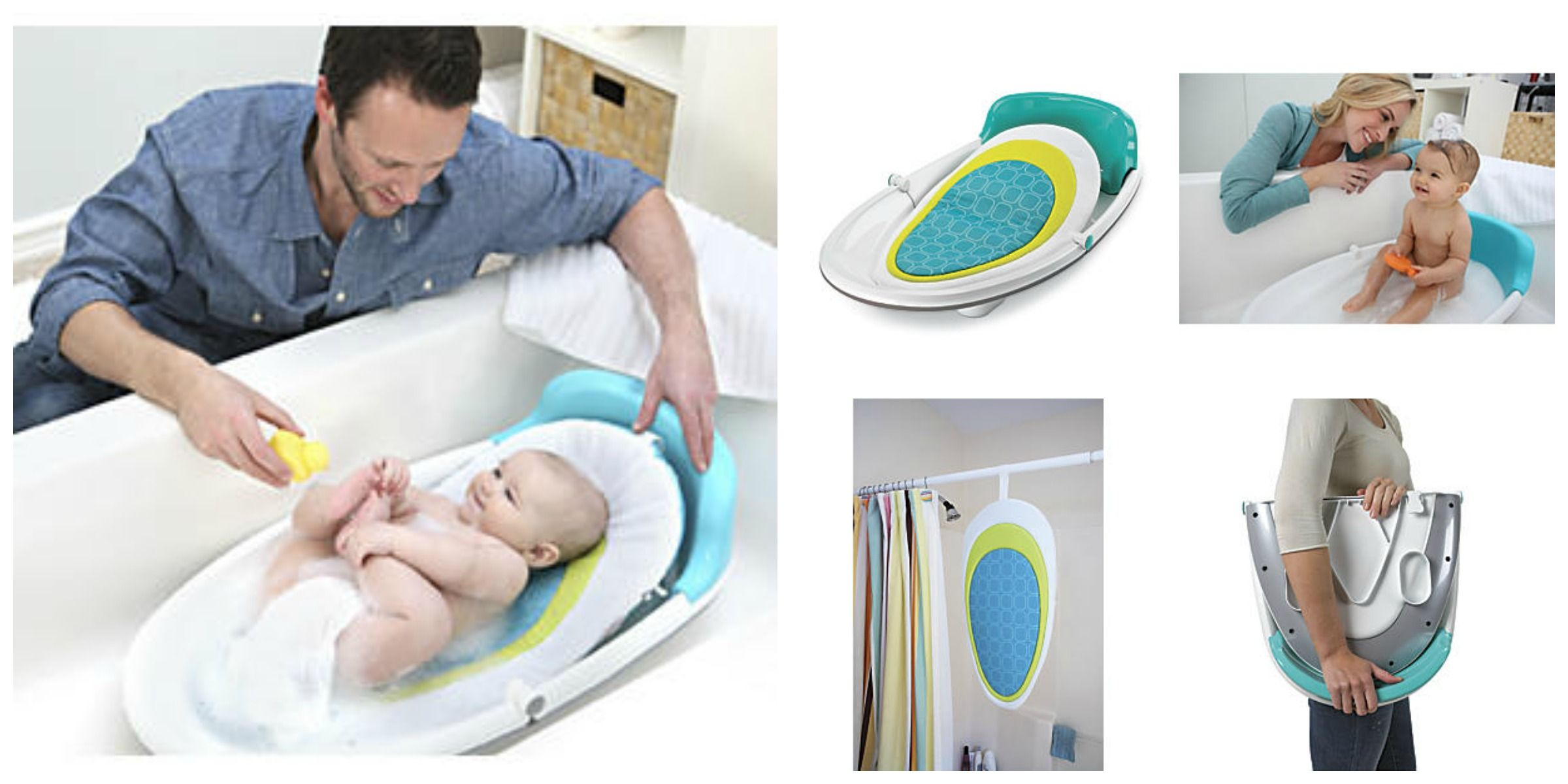 Easy Reach Baby Bath Tub: The baby bath tub for small bathrooms ...