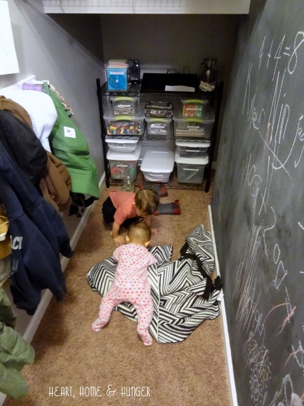 Lighting Basement Washroom Stairs: Under Stairs Playroom - Google Search