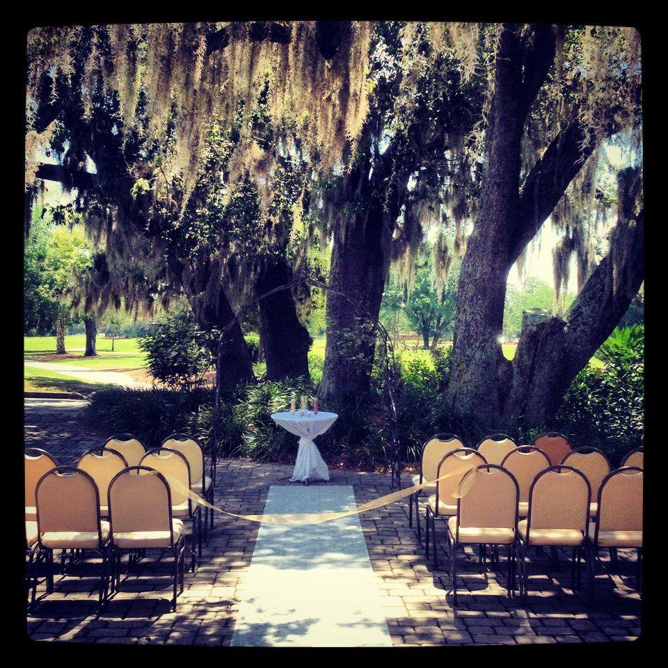 Outdoor Wedding Ceremony Orlando: Historic Dubsdread Ballroom Orlando, FL