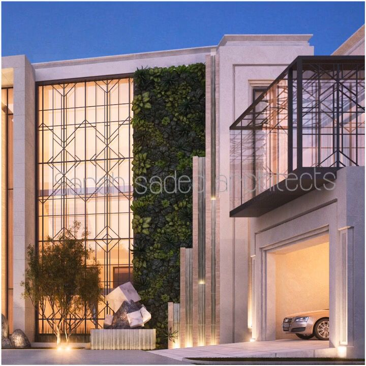 Private Villa Sarah Sadeq Architects Kuwait: Private Villa By Sarah's Sadeq Architects Kuwait