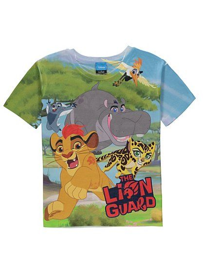 Disney The Lion Guard T Shirt Read Reviews And Buy Online At George
