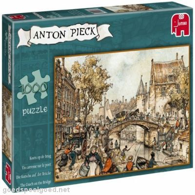 The current generation of children still adore Anton Piecks illustrations as books and puzzles ..