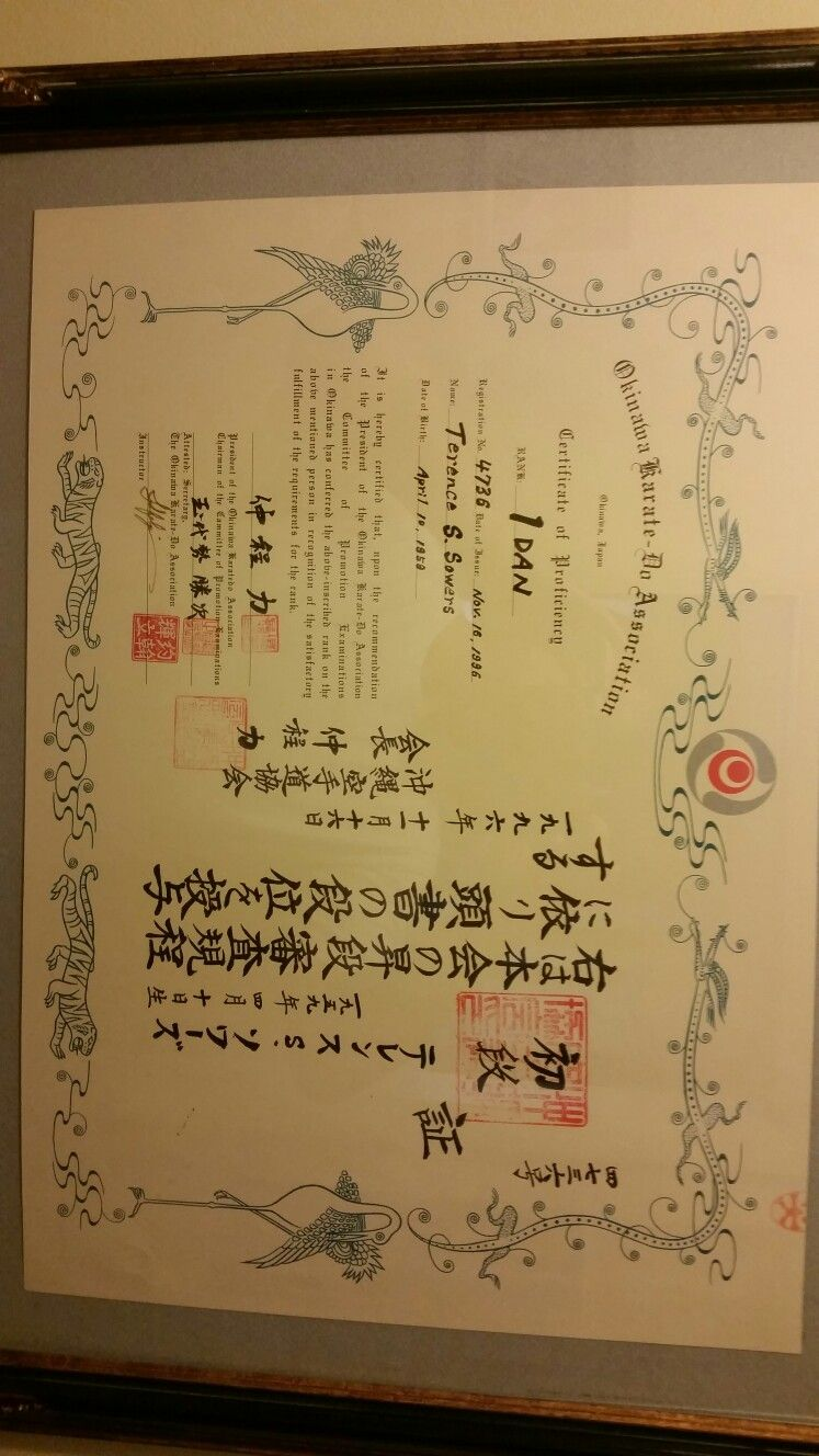 My black belt certificate about me pinterest certificate my black belt certificate xflitez Gallery