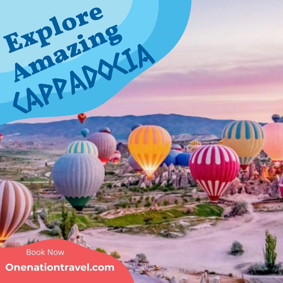 Explore Amazing Cappadocia