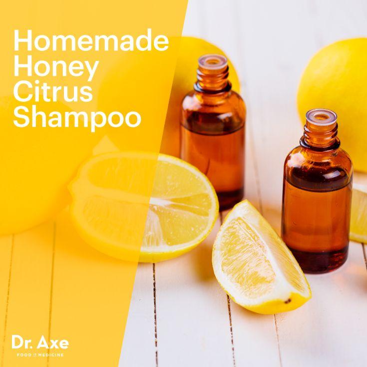 Homemade Honey Citrus Shampoo Recipe Honey Shampoo Homemade