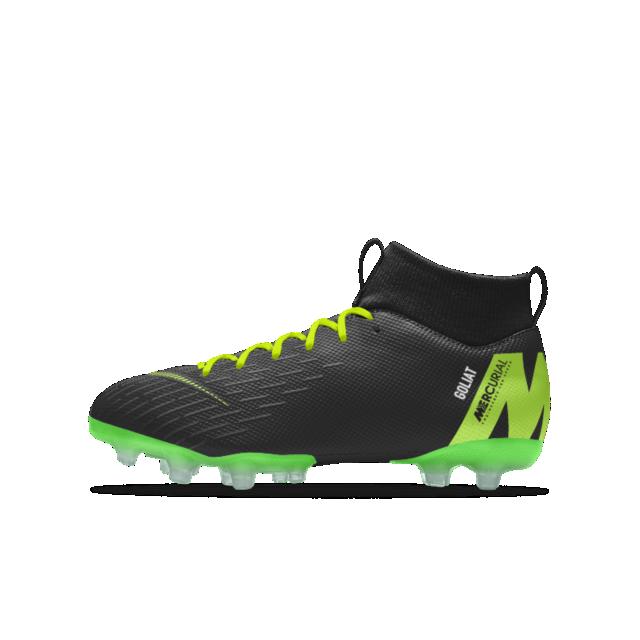 Calzado de fútbol para múltiples superficies para niños talla grande Nike  Jr. Mercurial Superfly VI Academy MG iD ebcc40e4d7e48