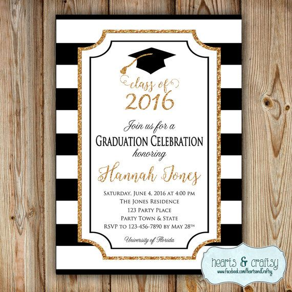 Congrats, Graduate! This listing is for a customized Graduation