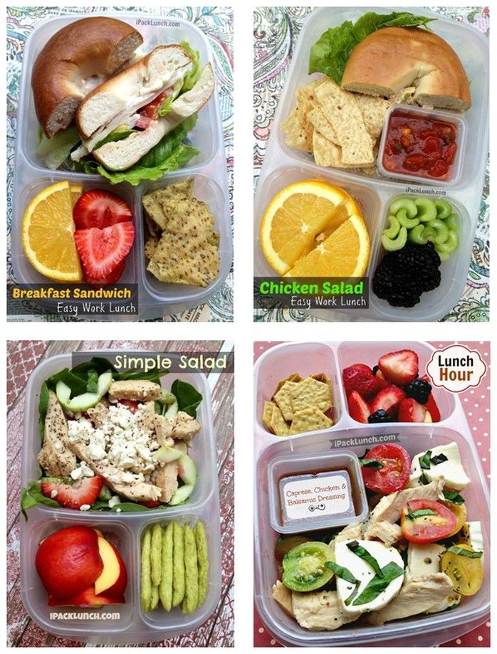 healthy and easy to pack lunch ideas. great for packing