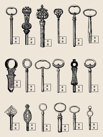 Usb Keys  by Speakerine