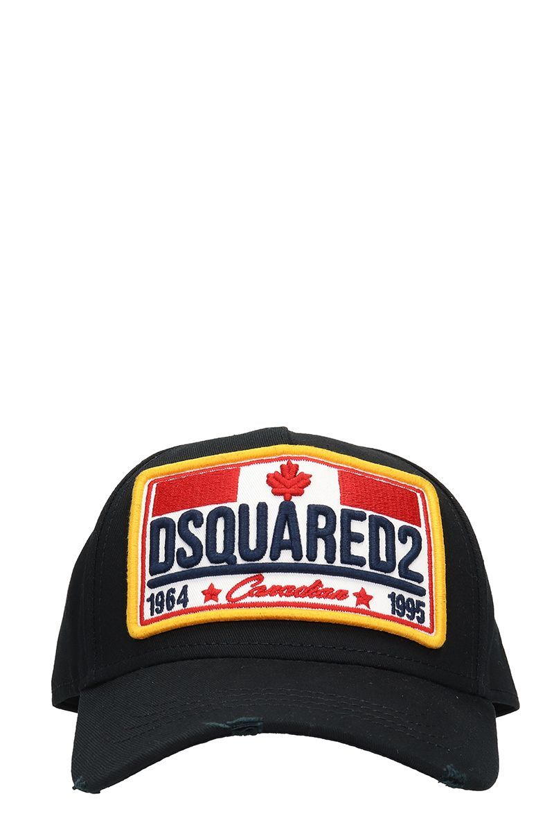 17ad50e3d DSQUARED2 BLACK COTTON HAT. #dsquared2 | Dsquared2 in 2019 | Hats ...