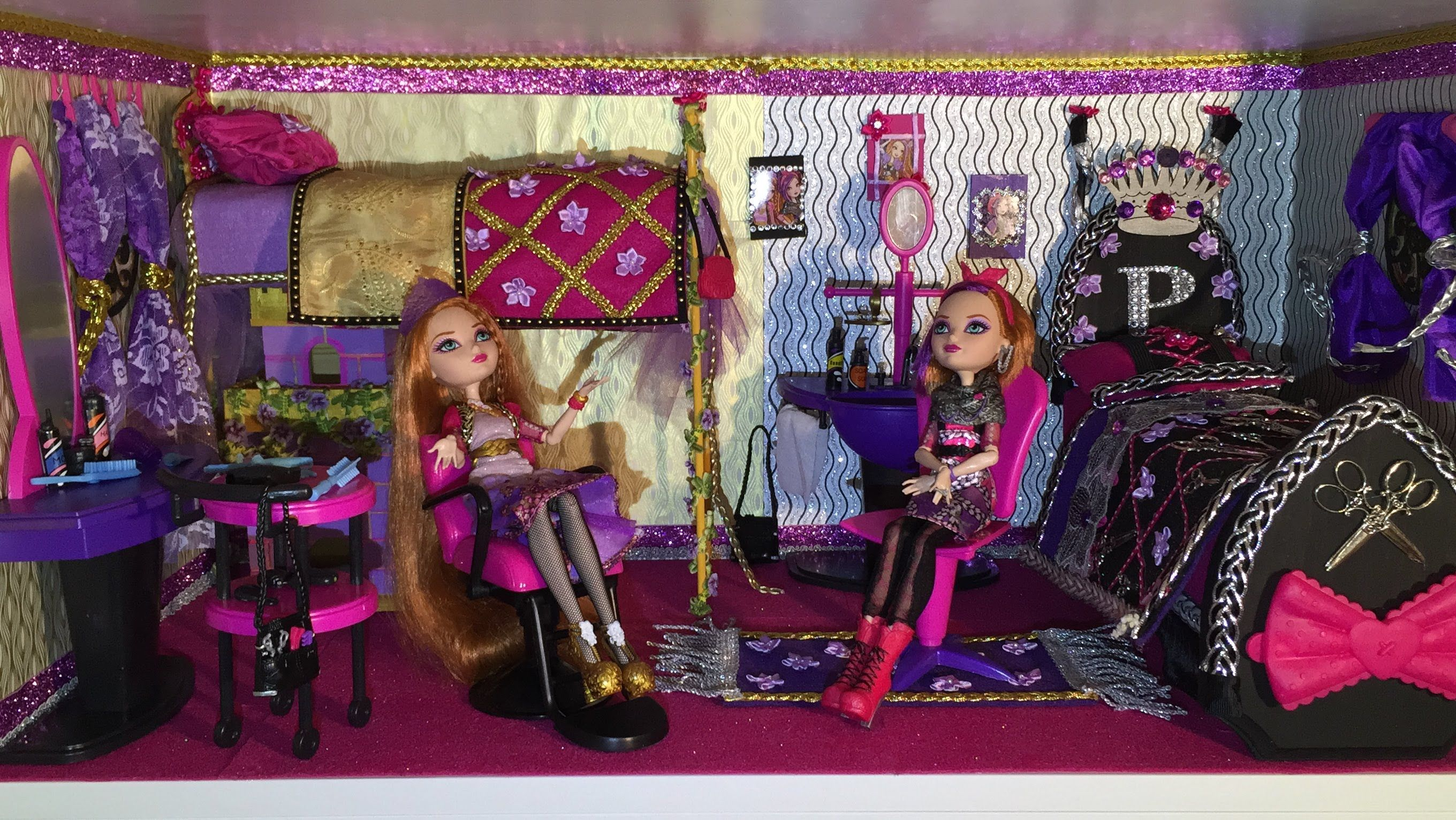 HOW TO MAKE A DORM ROOM FOR HOLLY & POPPY O'HAIR [EVER AFTER HIGH]