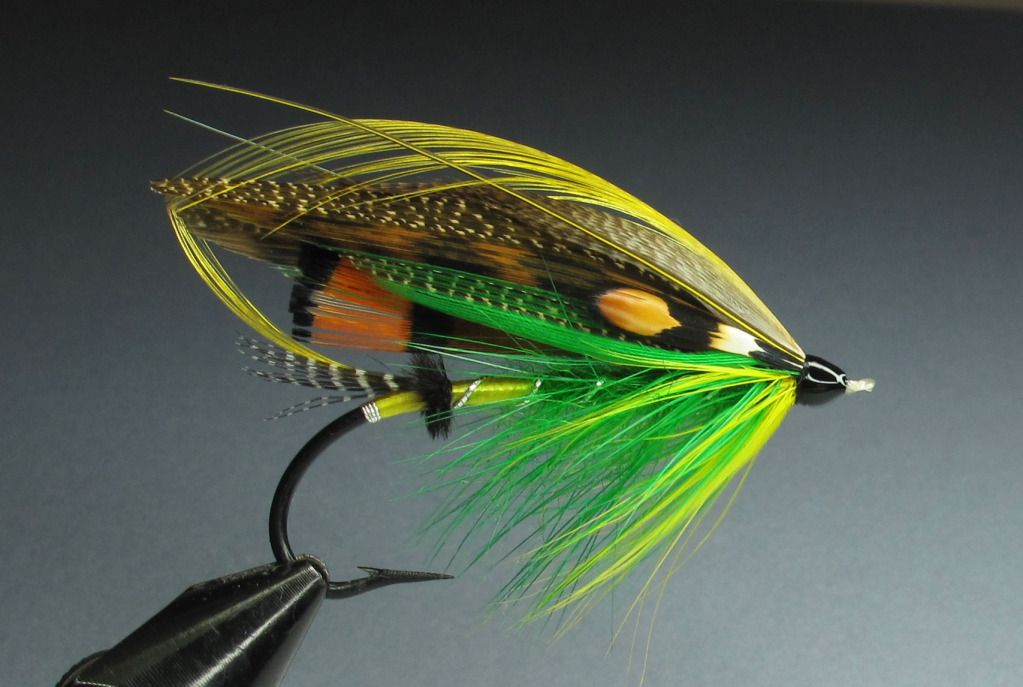 COLLECTOR SALMON FLy green highlander - Google Search ... Classic Atlantic Salmon Fly Patterns