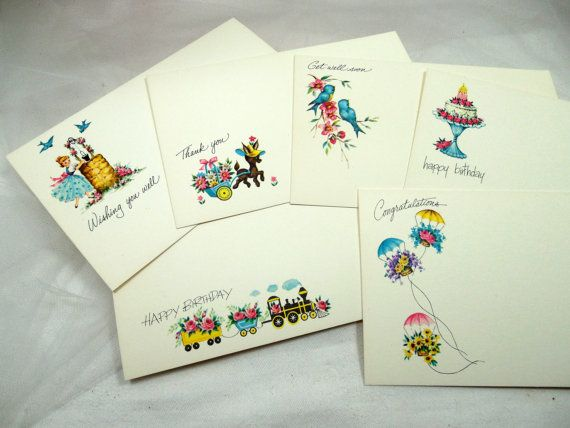 Vintage current inc post a note greeting cards in the original box vintage current inc post a note greeting cards in by beadgarden55 1200 m4hsunfo
