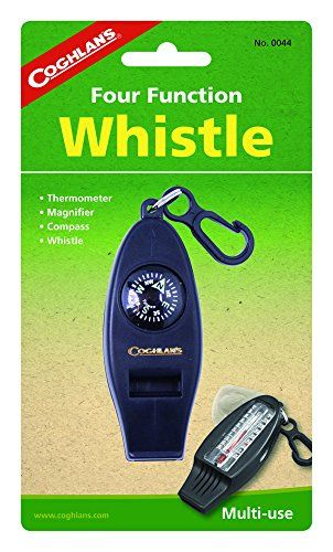 Coghlans Four Function Whistle ** Read more reviews of the product by visiting the link on the image. Note:It is Affiliate Link to Amazon.