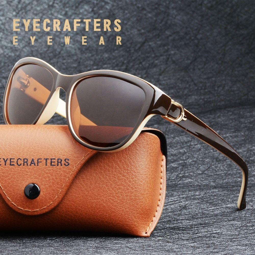 2018 Luxury Brand Design Cat Eye Polarized Sunglasses Womens Lady Elegant  Sun Glasses Female Driving Eyewear Oculos De Sol Review 3a489e1029
