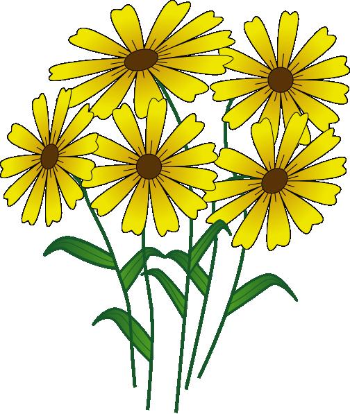 cartoon flowers clip art flowers clip art vector clip art online rh pinterest ca