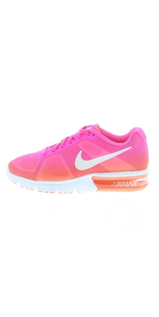 Nike Performance. AIR MAX SEQUENT Laufschuh Neutral pink