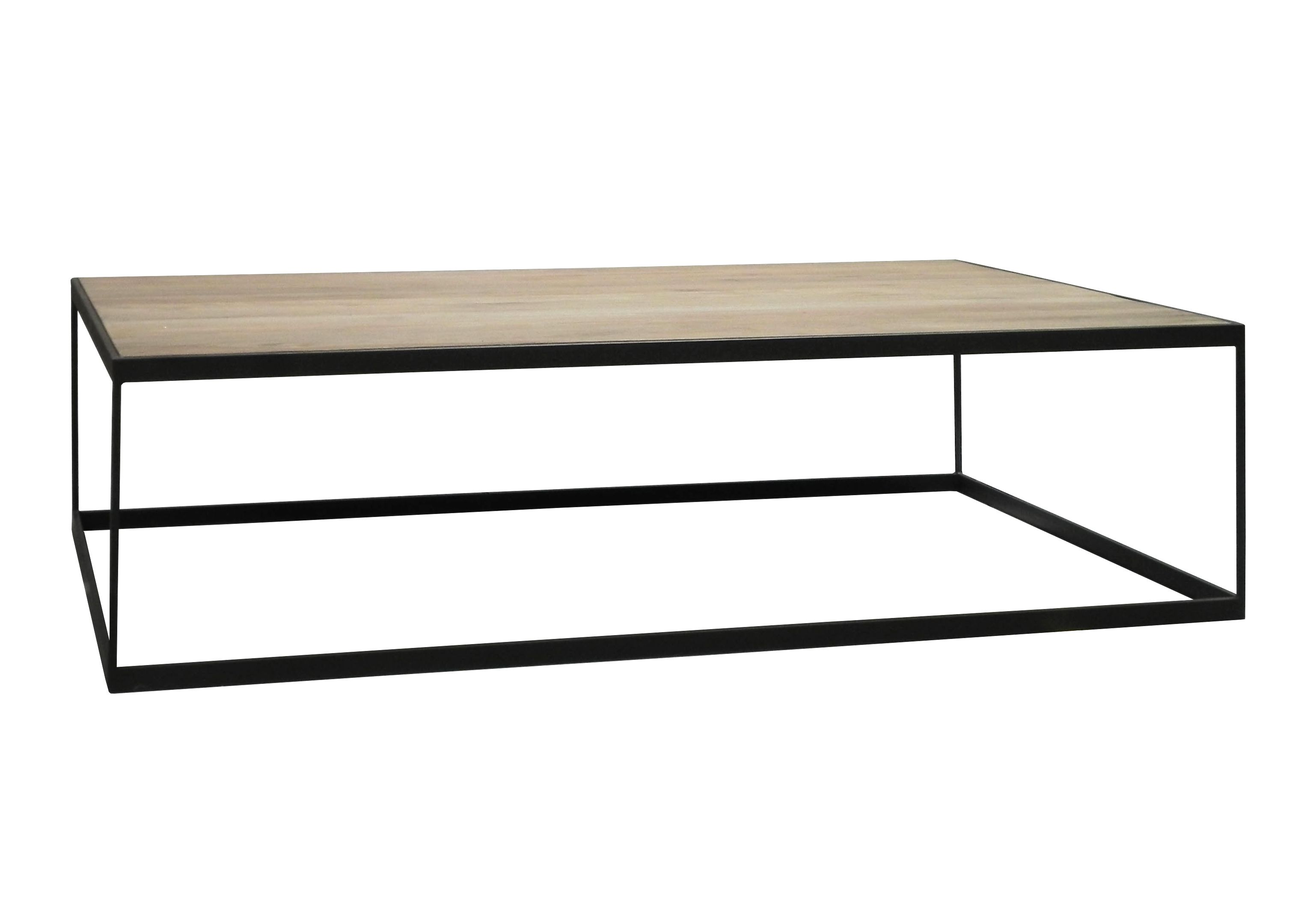 Table Basse Chene Massif Metal Soomaa Ref 30020860 Table Basse