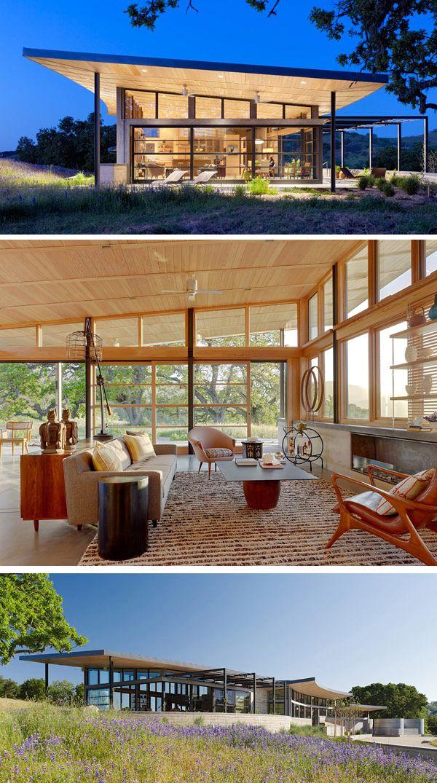 Caterpillar house by feldman architecture plastolux midcentury moderndanish modernmodern rusticrustic